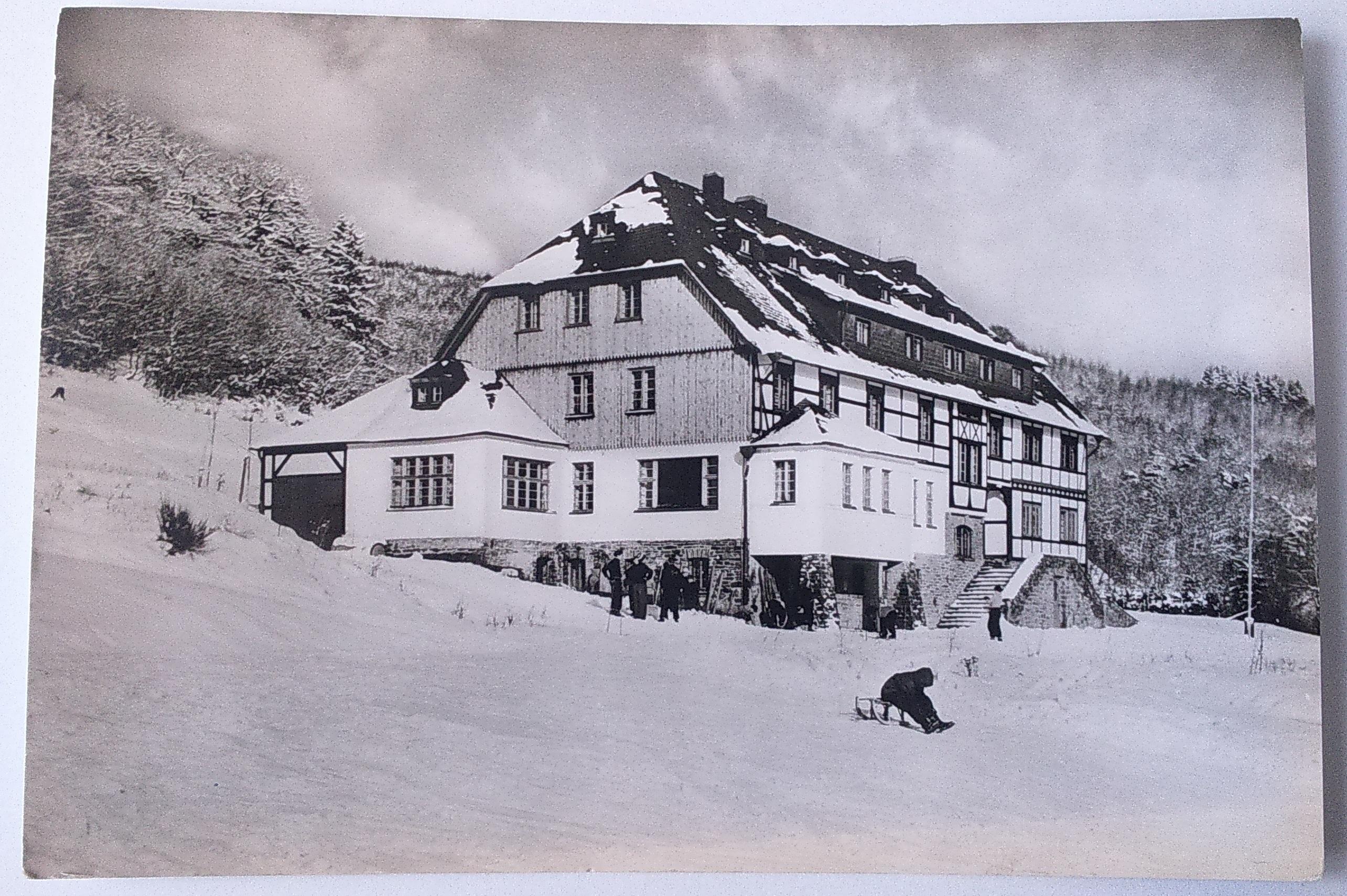 Jugendherberge Hellenthal Eifel (05.01.1968) front