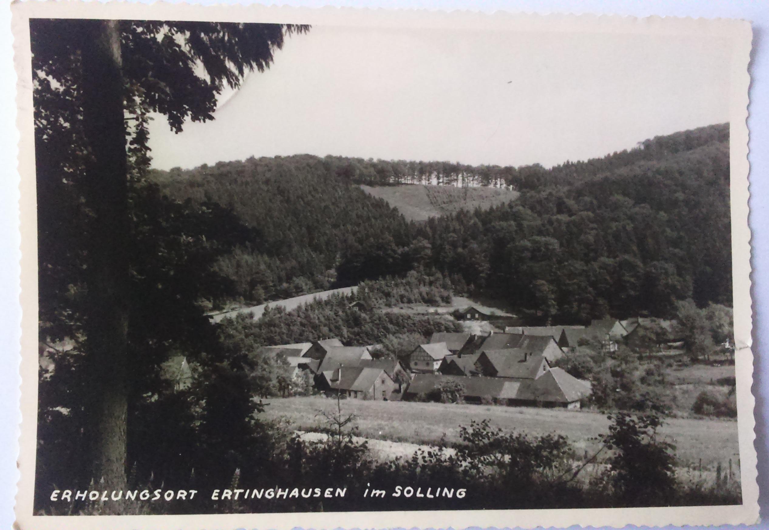 Erholungsort Ertinghausen im Solling (28.06.1960) front