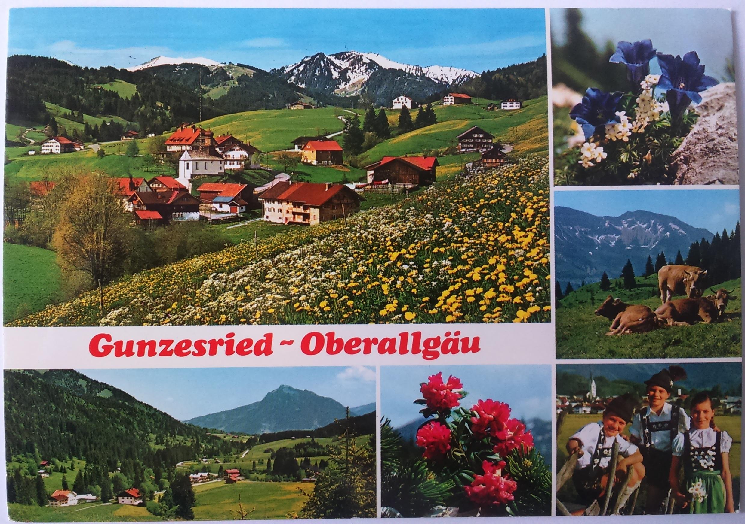 Gunzesried - Oberallgäu (24.08.1986) Immenstadt im Allgäu front