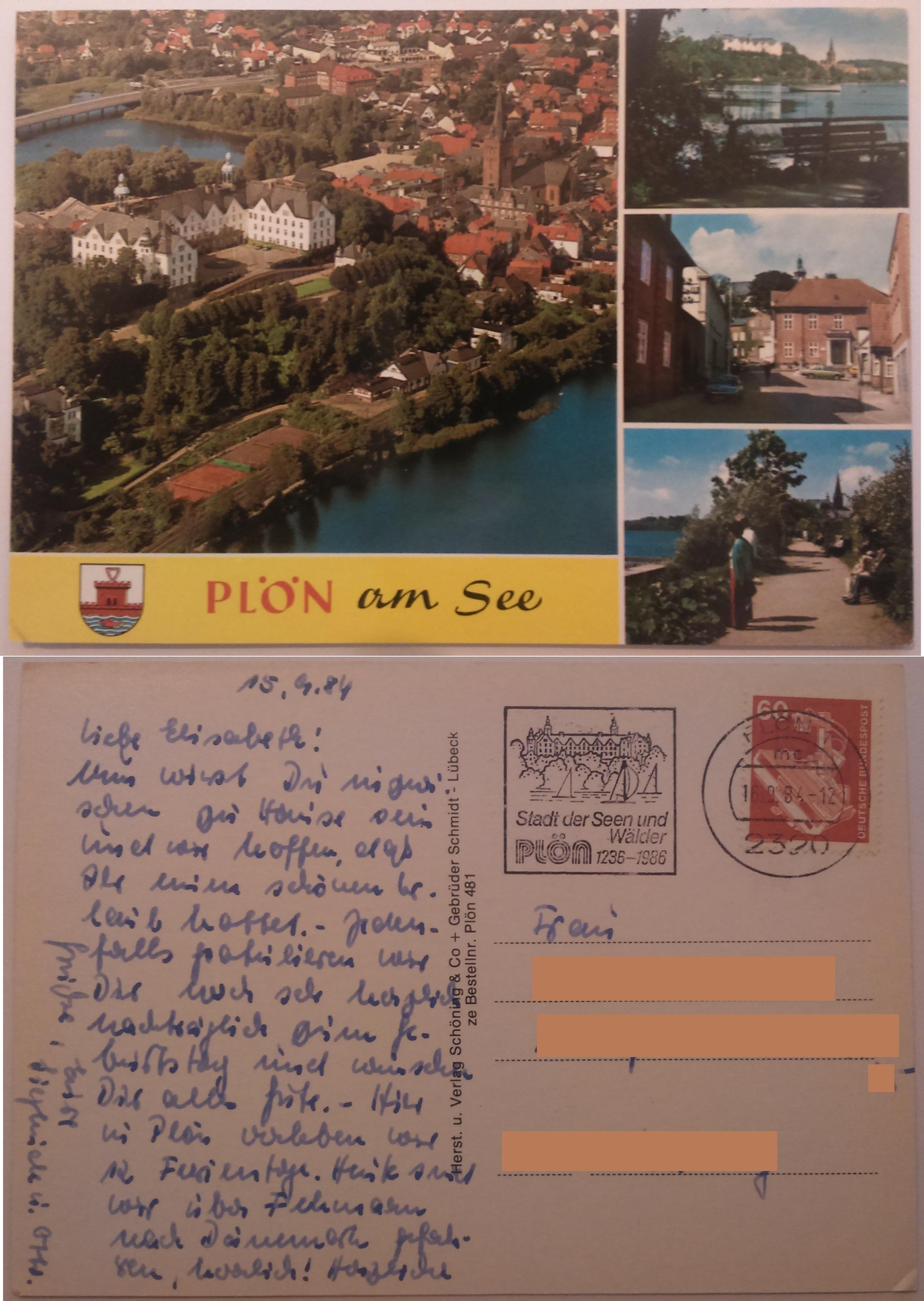 Plön am See (16.09.1984) both